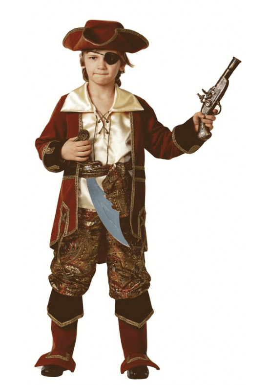 Костюм пирата и разбойника