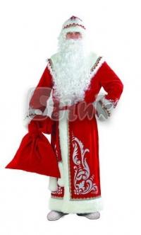 Дед Мороз аппликация красный   (для взрослых)