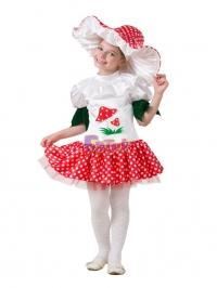 Грибок   - девочка (текстиль)