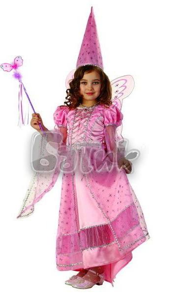Фея сказочная розовая  (зв.маскарад)