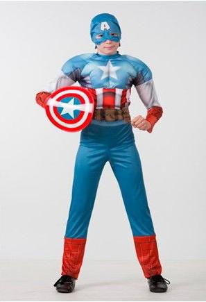 Капитан Америка. Мстители. (Зв. маскарад) Дисней