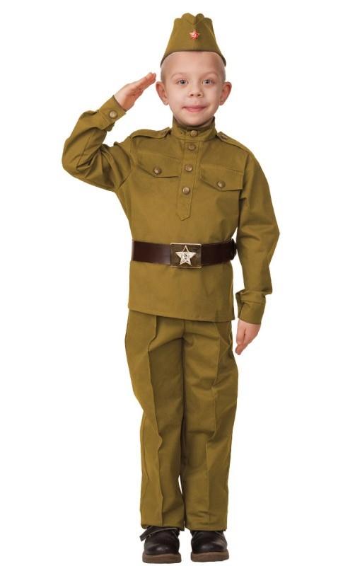 Солдат (хлопок) хаки