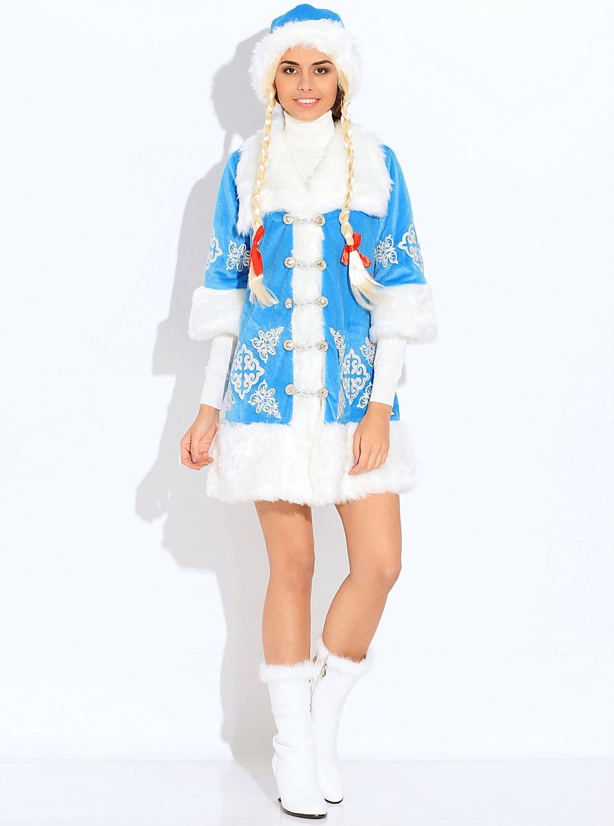 Снегурочка вышивка  (для взрослых)