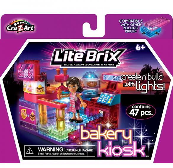 "Конструктор Lite Вrix Girls ""Пекарня"" Арт.35709"