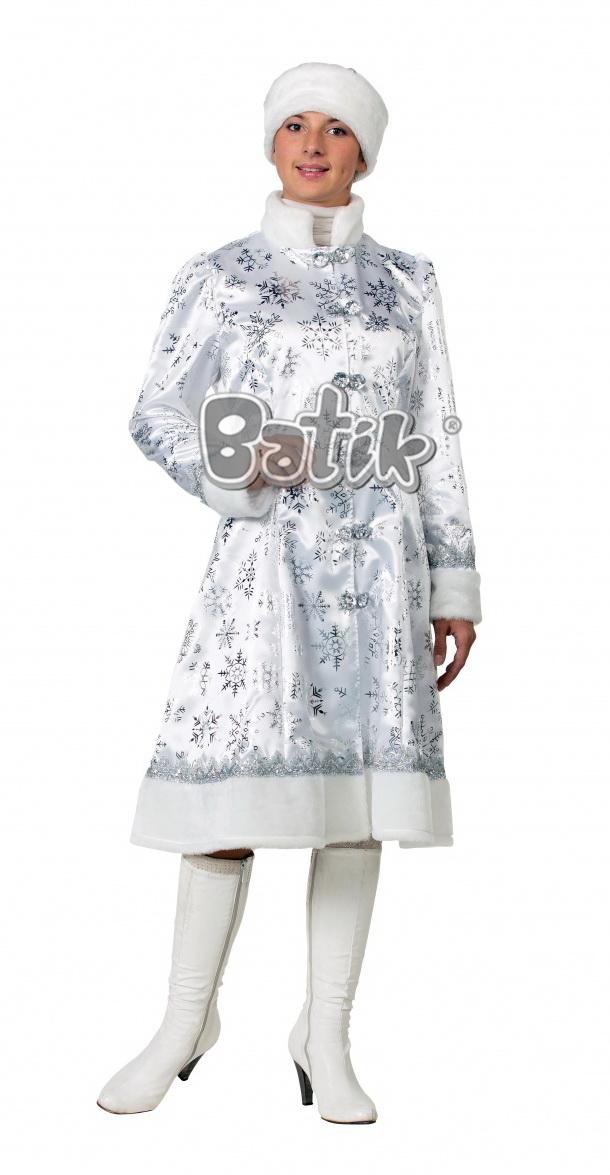 Снегурочка сатин  (для взрослых)