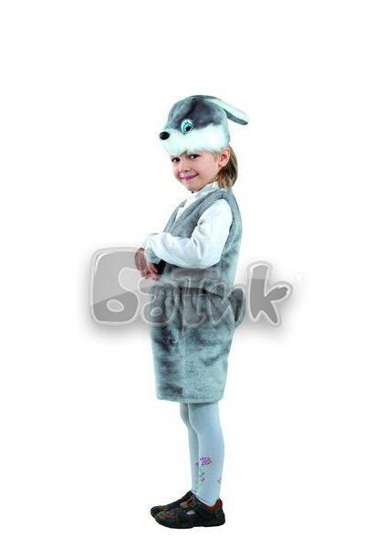 Заяц серый  (мех)