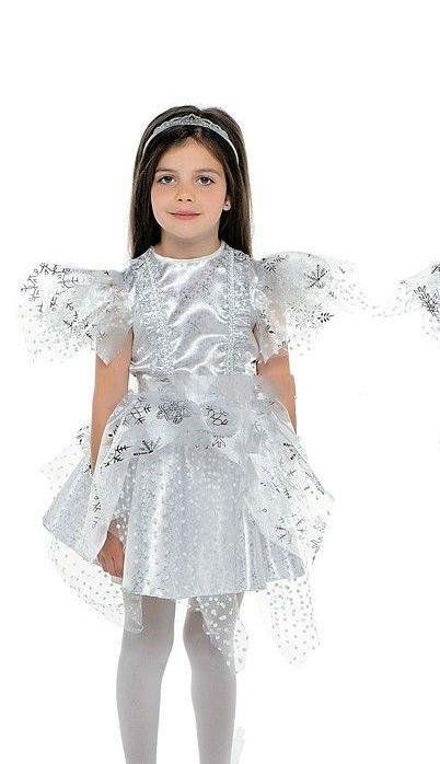Снежинка Серебряная   ( текстиль )