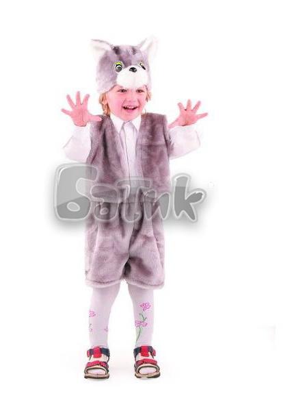 Кот  серый  (мех)