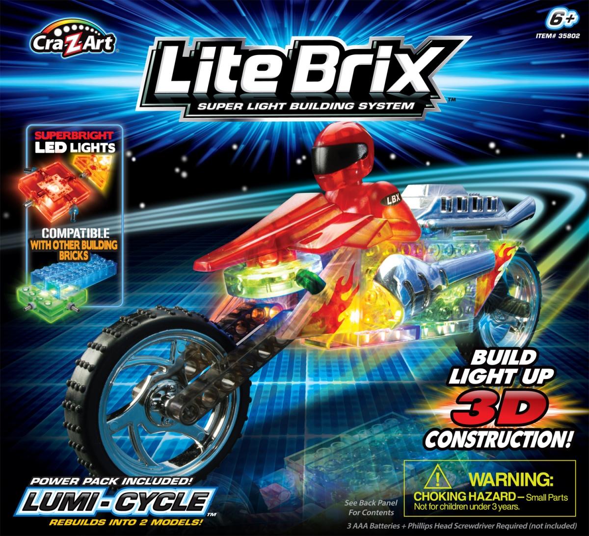Конструктор Lite Вrix Мотоцикл Арт.35802